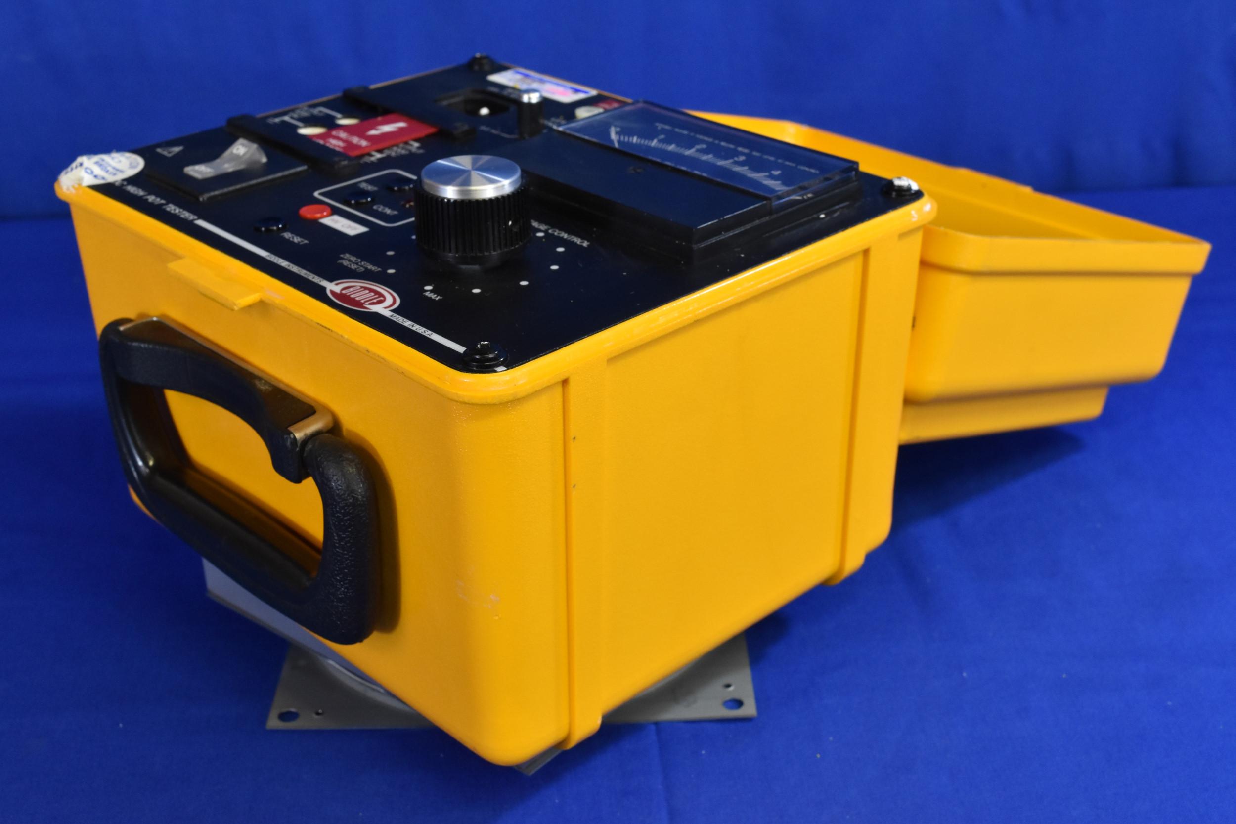 Biddle Megger 230425 Ac Dc High Pot Tester 0 4 Kv Ac 0 5 Kv Dc Silicon Valley Test Measurement